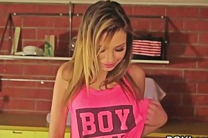 Latina Teen Bangs POV Brunette Handjob