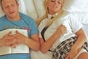 Wet Blond Schoolgirl Alexis Monroe
