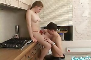 Young Boy Seduced And Fucked A Gorgeous Blonde Girl