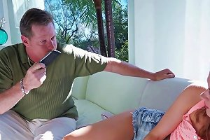 Familystrokes Cute Teen Fucks Step Dad To Get Phone